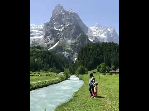 Switzerland Villages Fairytale #Shorts