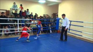 Султан (клуб БАРРАКУДА) финал  турнира по боксу КДЮСШ №3 среди юношей