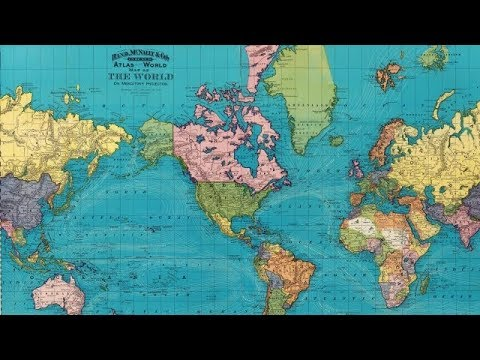 Standard map of the World. | Library of Congress |Word Nap
