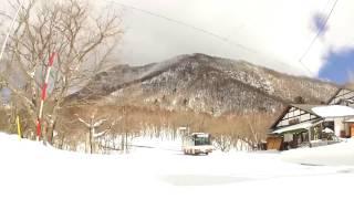 【車載動画】#7 冬の赤城山の大沼湖畔を一周 雪道ドライブ
