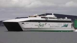 Irish Ferries Jonathan Swift - Poolbeg, Dublin.