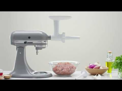 For KitchenAid Meat Grinder Slicer Shredder Attachment Food Stuffer Mixer UK