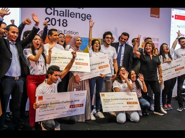 """TryBionic"" remporte le 1er prix du ""Orange Summer Challenge 2018"""
