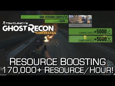Ghost Recon Wildlands - Resource Farming / Convoy Boosting Method - 150,000+ Resources/Hour!
