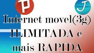Internet móvel ( 3g, 4g) ILIMITADA, mais rápida ( assistir vídeos no YouTube ) vivo, claro, Oi e Tim