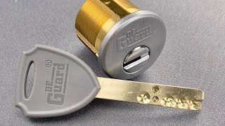 [1170] High(ish) Security Copy: DeGuard Pin-in-Pin Lock Cylinder