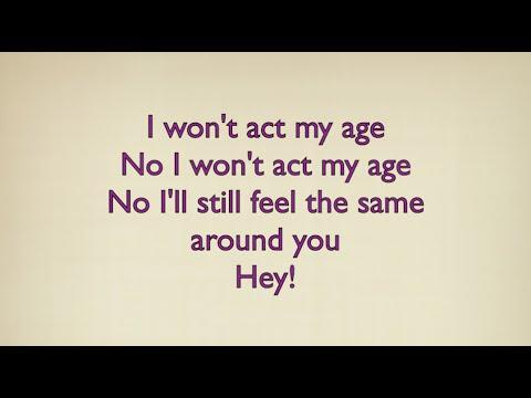 """ACT MY AGE"" - One Direction KARAOKE LYRICS (Guitar Instrumental) Backing Track"