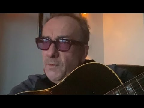 Elvis Costello - from isolation - Artists4NHS (March 2020)