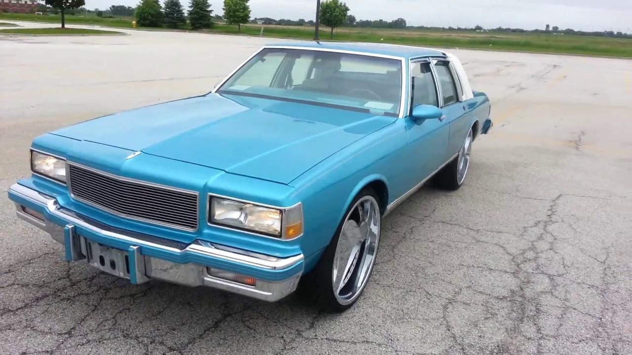 1988 chevy caprice brougham ls sky blue custom youtube - Custom box chevy caprice interior ...