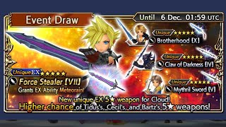 Dissidia Final Fantasy Opera Omnia - EX NOW AVAILABLE - Cloud EX & Shantotto EX Banners - 60000 Gems