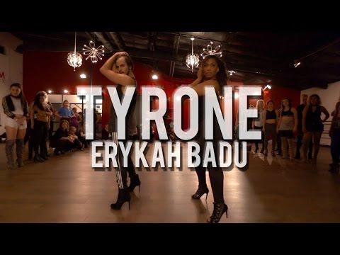 "YANIS MARSHALL & AISHA FRANCIS HEELS CHOREOGRAPHY. ""TYRONE"" ERYKAH BADU. MILLENNIUM LOS ANGELES"