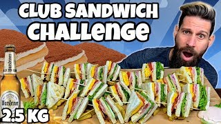 MASTER CLUB SANDWICH CHALLENGE (2.5 KG) - MAN VS FOOD