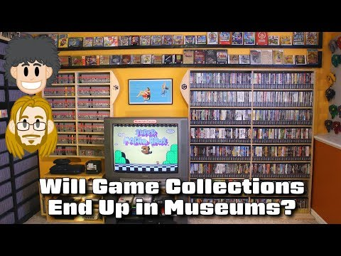 Will Game Collections End Up in Museums? #CUPodcast