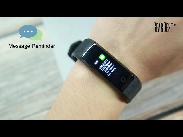 ID115 Plus 0 96 inch Smart Bracelet