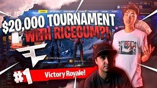 20000$ TOURNAMENT WITH RICEGUM VS SUMMIT1G & MINIKERR