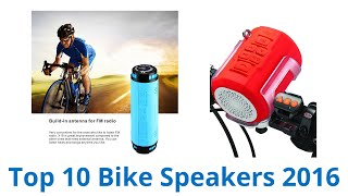 10 Best Bike Speakers 2016