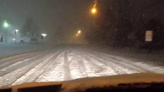 BMW 3-Series xDrive Road Test in 1 Foot of Snow - Buffalo, NY - Winter Storm Euclid