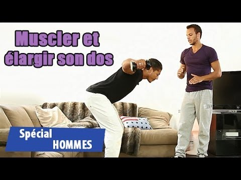 muscler son dos en 2 exercices youtube. Black Bedroom Furniture Sets. Home Design Ideas