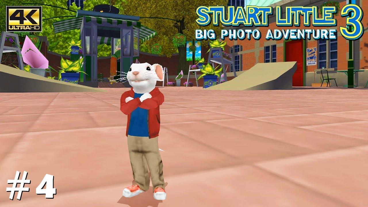 Stuart Little 3: Big Photo Adventure - PS2 Gameplay Playthrough 4k 2160p  (PCSX2) PART 4 (Lake)