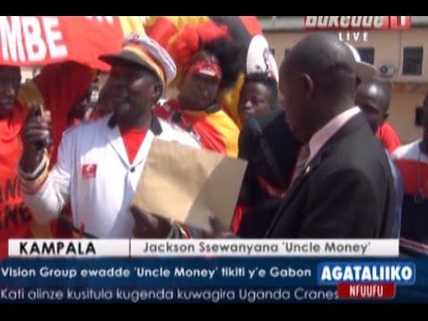SPORTS: Vision Group ewadde 'Uncle Money' tikiti y'e Gabon