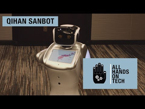 All Hands on Tech: Sanbot, the hospitality robot
