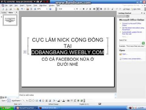 NICK CỘNG ĐỒNG BANG BANG
