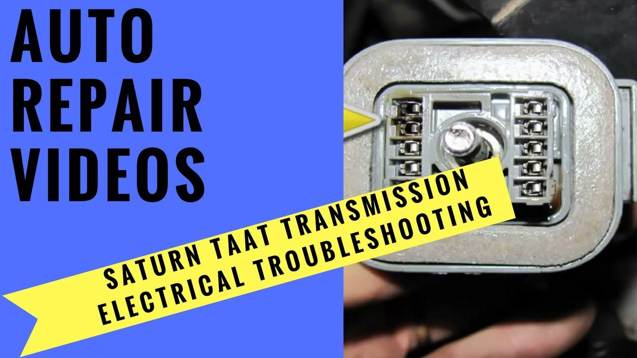 Saturn Taat Wiring Diagram Content Resource Of 2001 Sl2 Engine Transmission Electrical Troubleshooting Youtube Rh Com Pcm