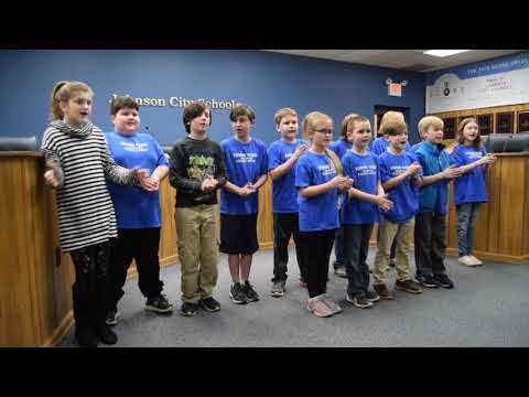 Towne Acres Students Perform at Johnson City Board of Education