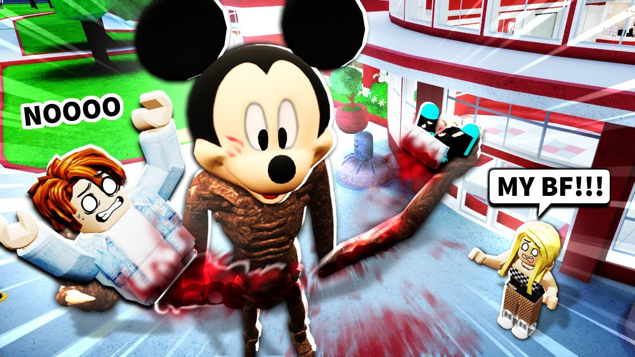 I Became Roblox Mickey Mouse Youtube
