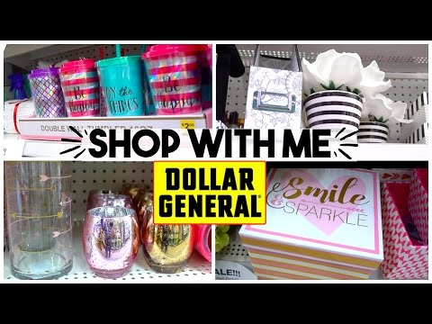 SHOP WITH ME | DOLLAR GENERAL | HOME DECOR + BRAND NAMES FOR CHEAP! Sensational Finds