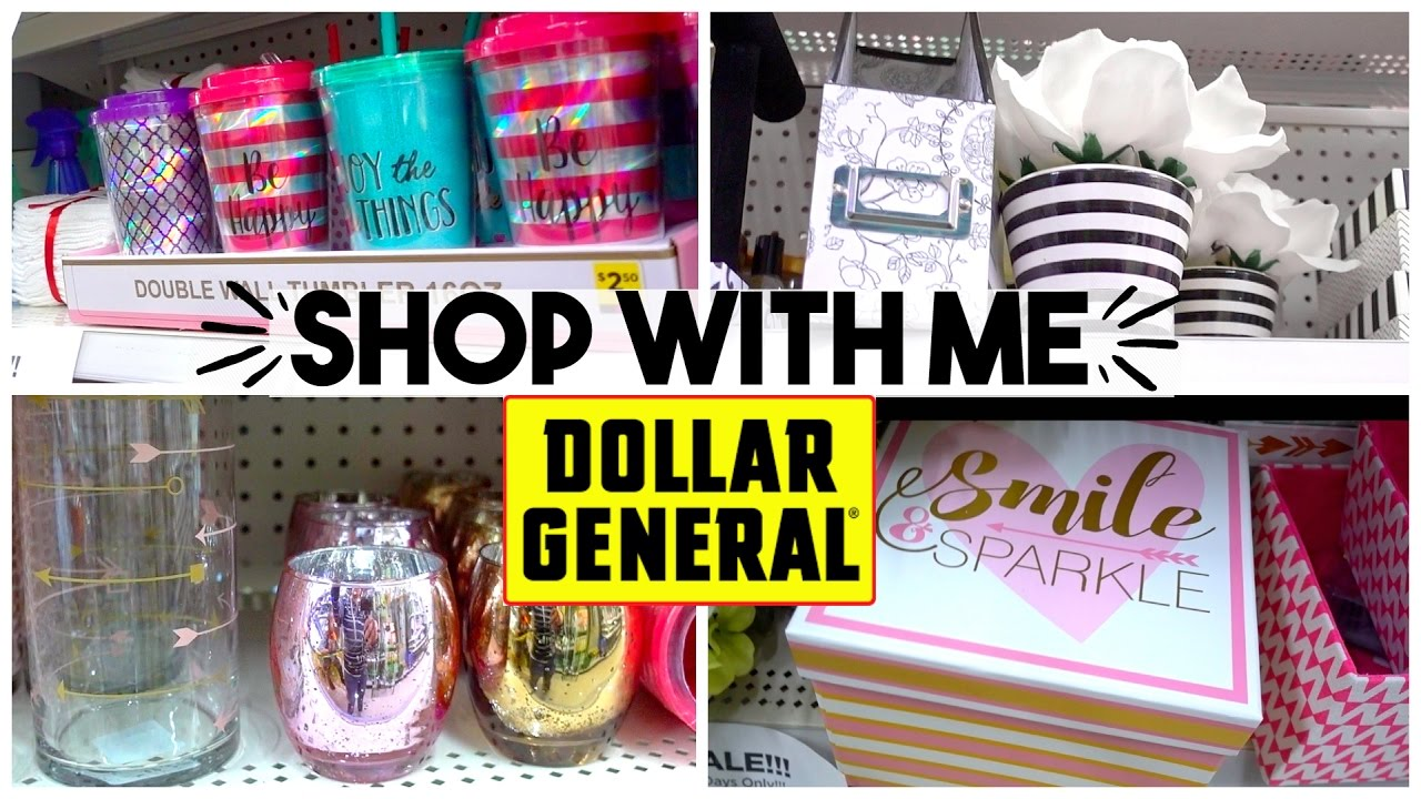 Shop With Me Dollar General Home Decor Brand Names For Cheap Sensational Finds