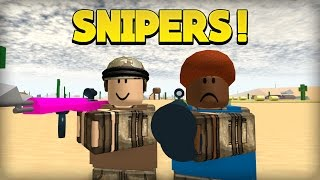 DESERT SNIPERS! - Apocalypse Rising ROBLOX