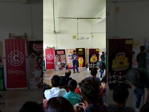Reciting poetry at BMC department #Patna college # Radio mirchi with RJ Shashi