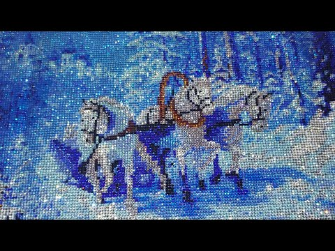 """#80.-post-review-of-a-full-crystalline-diamond-painting-""""troyka"""""""