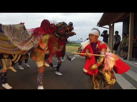 獅子舞2017_中保の獅子舞10分版(富山県高岡市)