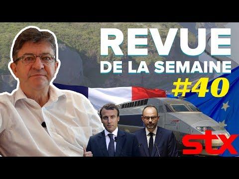 #RDLS40 : LA RÉUNION, STX, ALSTOM, MACRON ET L'EUROPE, DÉBAT AVEC PHILIPPE