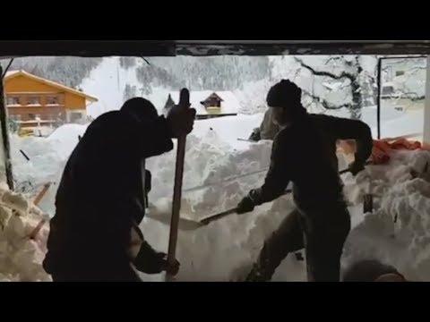 SCHNEECHAOS: Trotz Wetter-Entspannung - Lage in den Alpen bleibt ernst