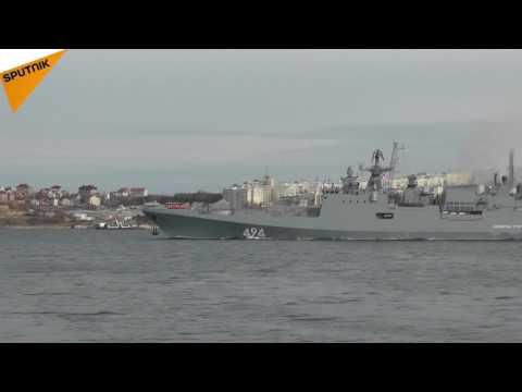 La frégate Amiral Grigorovitch va rejoindre le groupe naval russe en Méditerranée