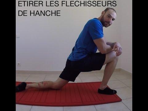Comment étirer les fléchisseurs de hanche - YouTube