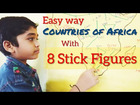 Countries of Africa with Tricks for UPSC