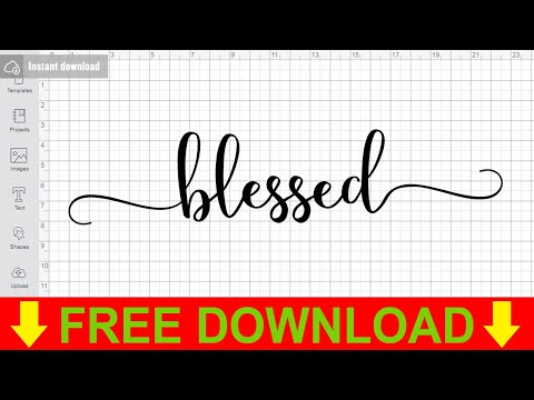 Blessed Svg Free Saying Svg Quote Svg Instant Download Silhouette Cameo Shirt Design Blessed Cut File Free Vector Files Dxf 0876 Freesvgplanet