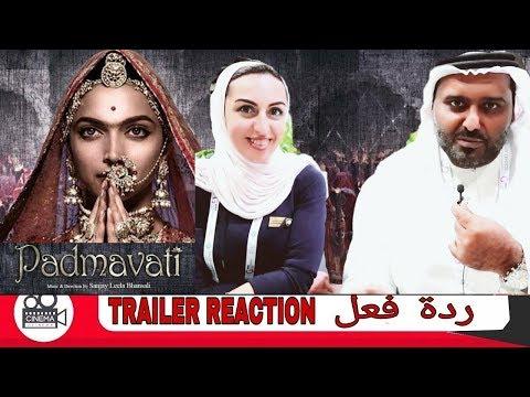 Padmavati Trailer Reaction | Deepika Padukone| Ranveer Singh| Shahid Kapoor