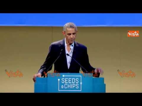 """Obama spaventa l'Europa: """"Con il cambiamento climatico sempre più migranti"""""""