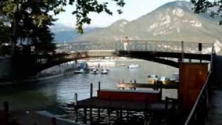 Annecy la vieille ville et le lac  1er partie