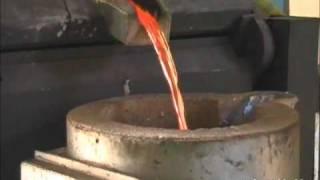 Central de fusão por indução -  Ferrari Ind. Metalúrgica