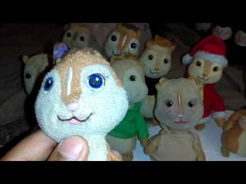 ALVIN and the chipmunks ty beanie babie review