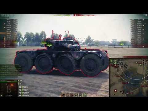 Колесные танки. В прицеле мягкого нерфа EBR   Вспышка о World of Tanks