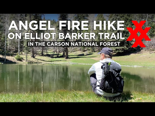 Hiking Elliot Barker Trail in Angel Fire, New Mexico