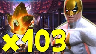 OPENING 103 IMMORTAL IRON FIST CRYSTALS | MARVEL: Contest of Champions (iOS/Android)