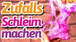 Zufalls Schleim / Slime selber machen: CRUNCH CRUNCH CRUNCH